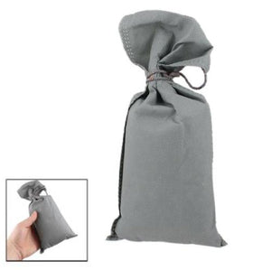 10X  New Gray Wine Bag Bamboo Charcoal Activated Carbon Air Freshener for Car Auto
