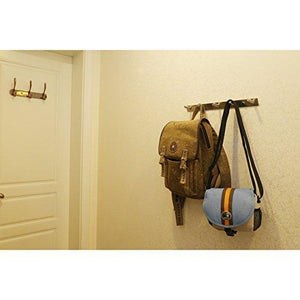 Heavy duty protasm modern hook hat bath towel coat hooks robe garment rack hanger rail holder screw wall mount closet clothing bathroom garage home storage organization