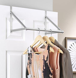 Discover the whitmor over the door closet rod metal silver epoxy