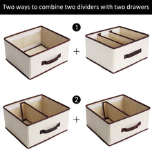 Load image into Gallery viewer, Select nice storageworks 6 shelf hanging dresser foldable closet hanging shelves with 2 magic drawers 1 underwear socks drawer 42 5h x 13 6w x 12 2d