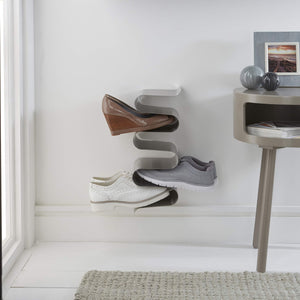 New j me nest wall shoe rack shoe organizer keeps shoes boots sneakers and sandals off the floor a great wall mounted shoe storage solution for your entryway or closet