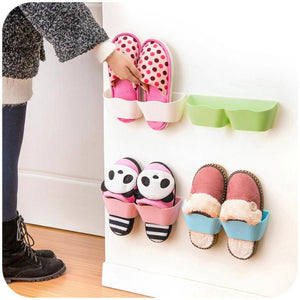 Creative Wall stick on Shoe Organizer (2 pcs)