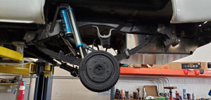 Rear Leafspring front hanger +2""