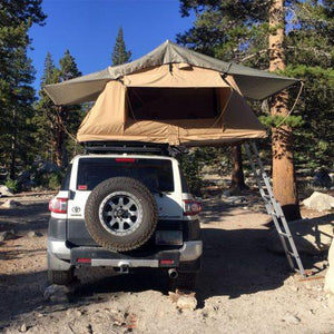 "TUFF STUFF® ""DELTA"" OVERLAND ROOF TOP JEEP & TRUCK TENT, 2 PERSON"