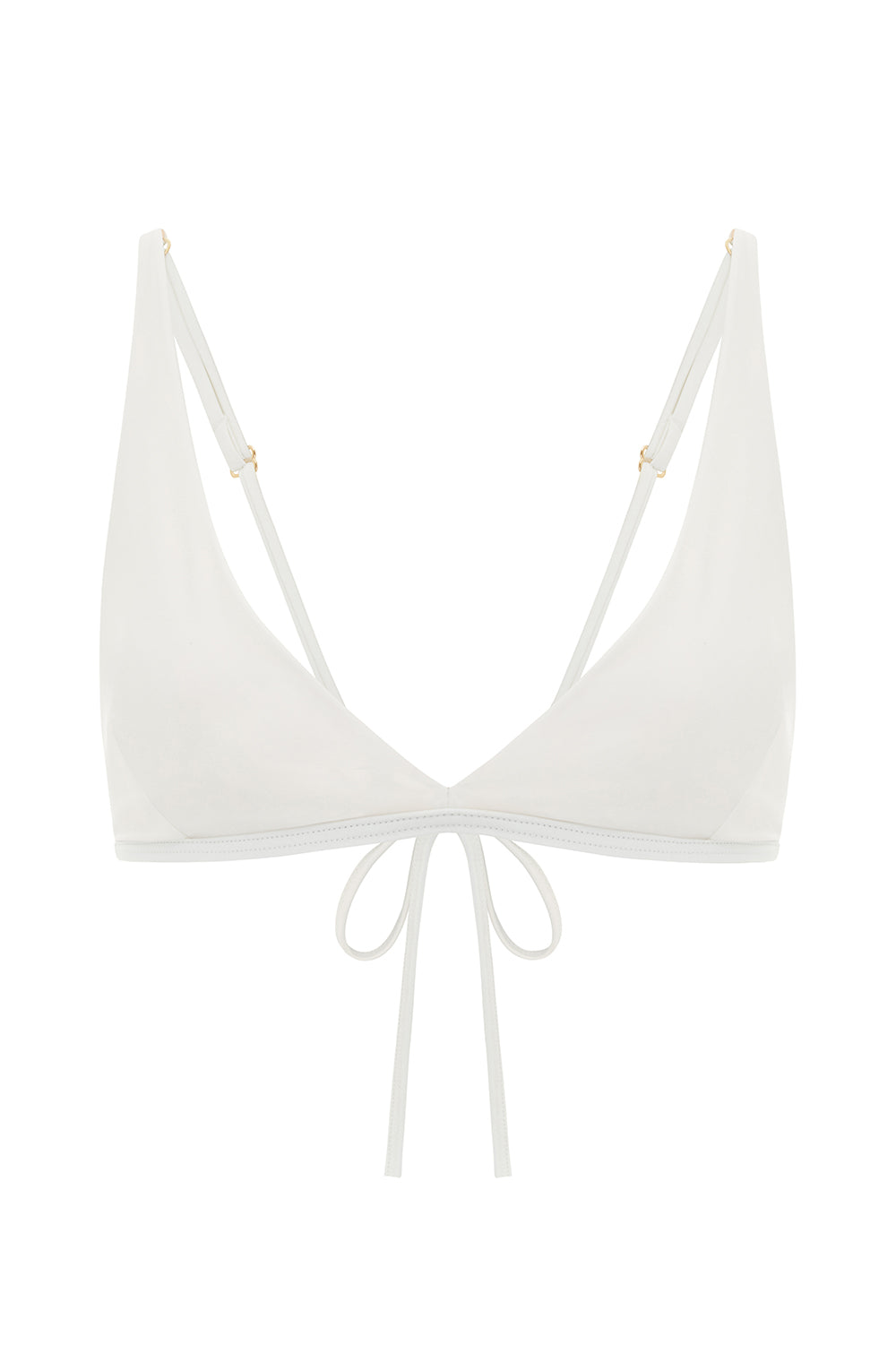 Essential Triangle Top - Cream