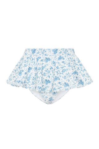 Elle High Waisted Bottom - Bloom