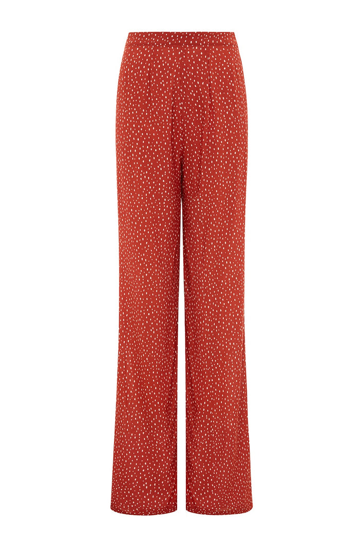 High Waisted Trousers / Pebble
