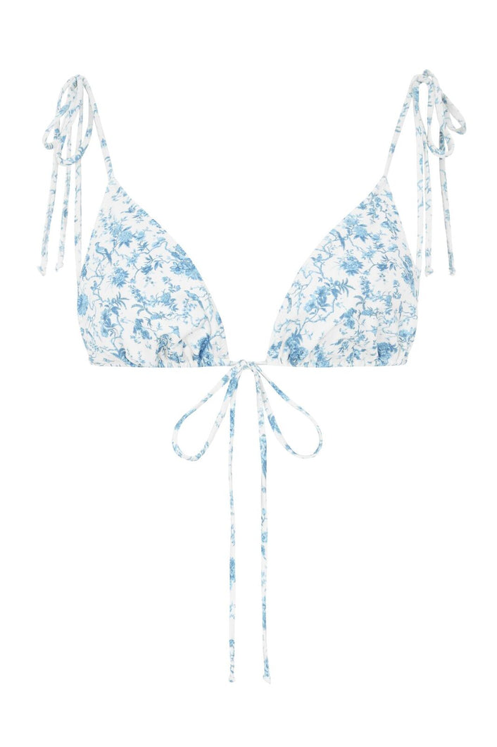 Cindy String Bikini Top - Bloom