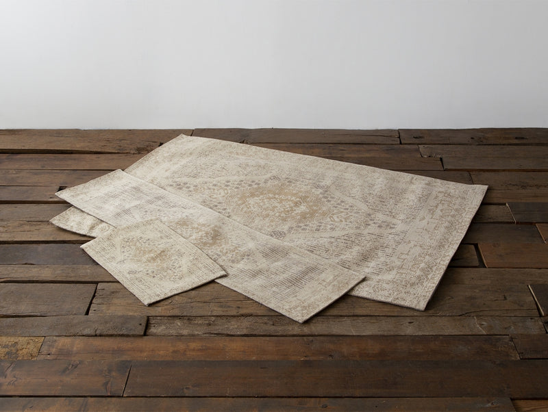 VINE YARD RUG  IVORY/BROWN