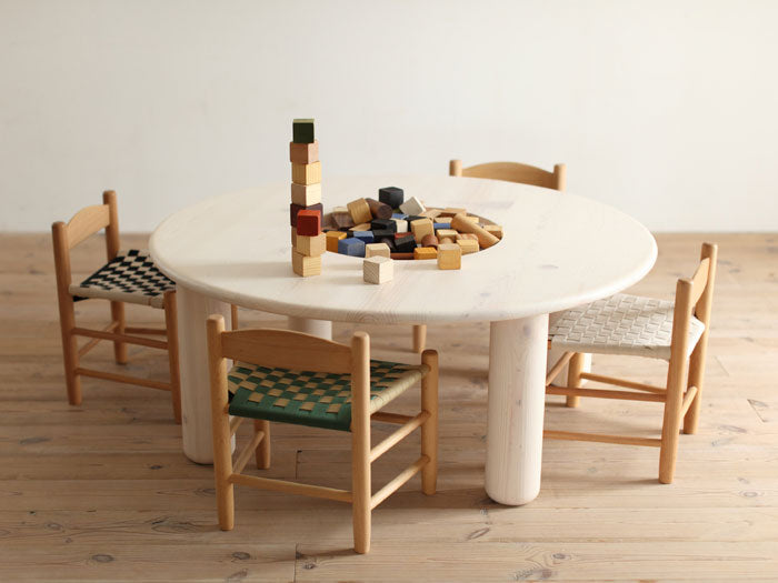 PICCOLO CIRCLE TABLE - HINOKI