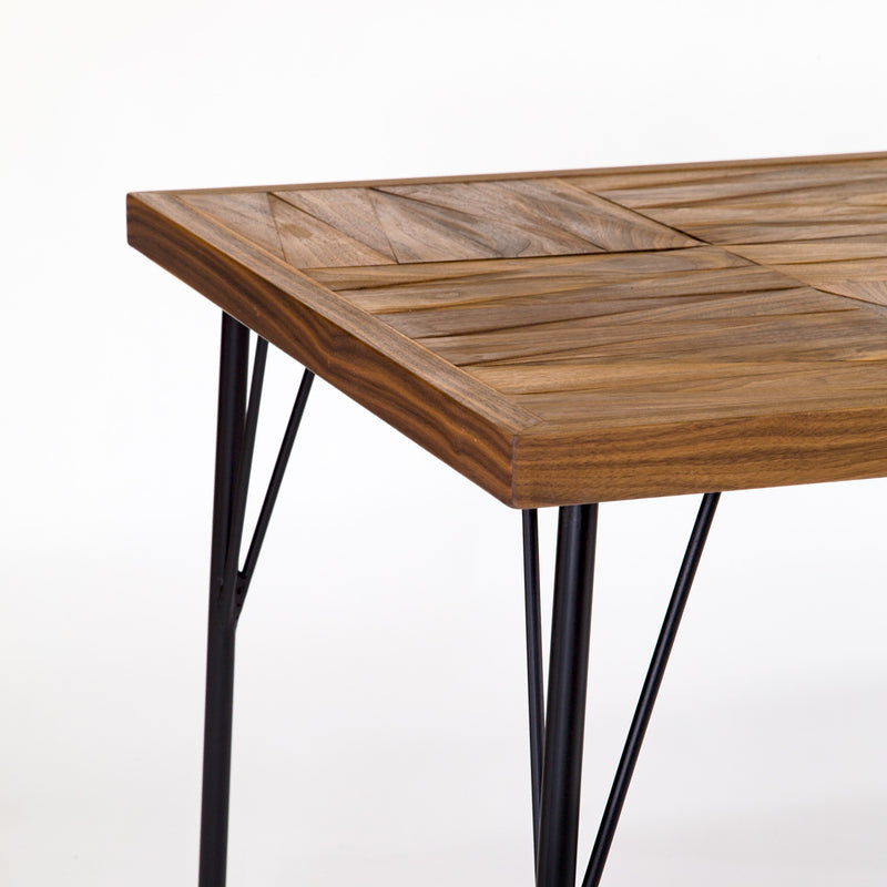PARCS DINING TABLE ( WALNUT )