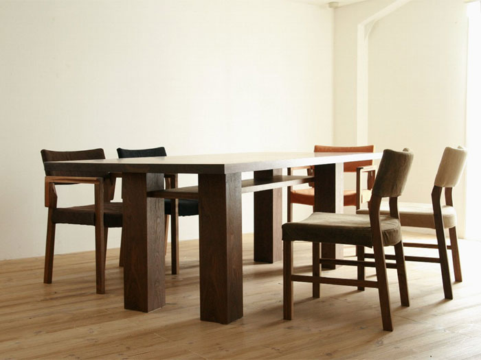 ANIMA WOOD DINING TABLE STANDARD