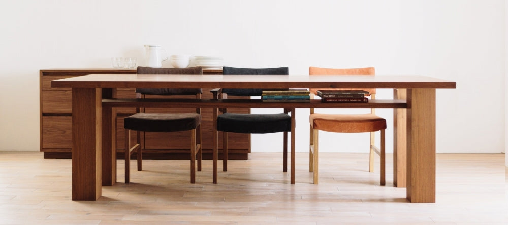 ANIMA WOOD DINING TABLE WIDE