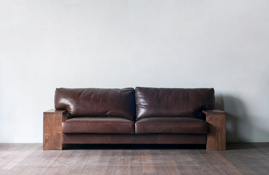 ROBAN SOFA 3P (MO LEATHER)