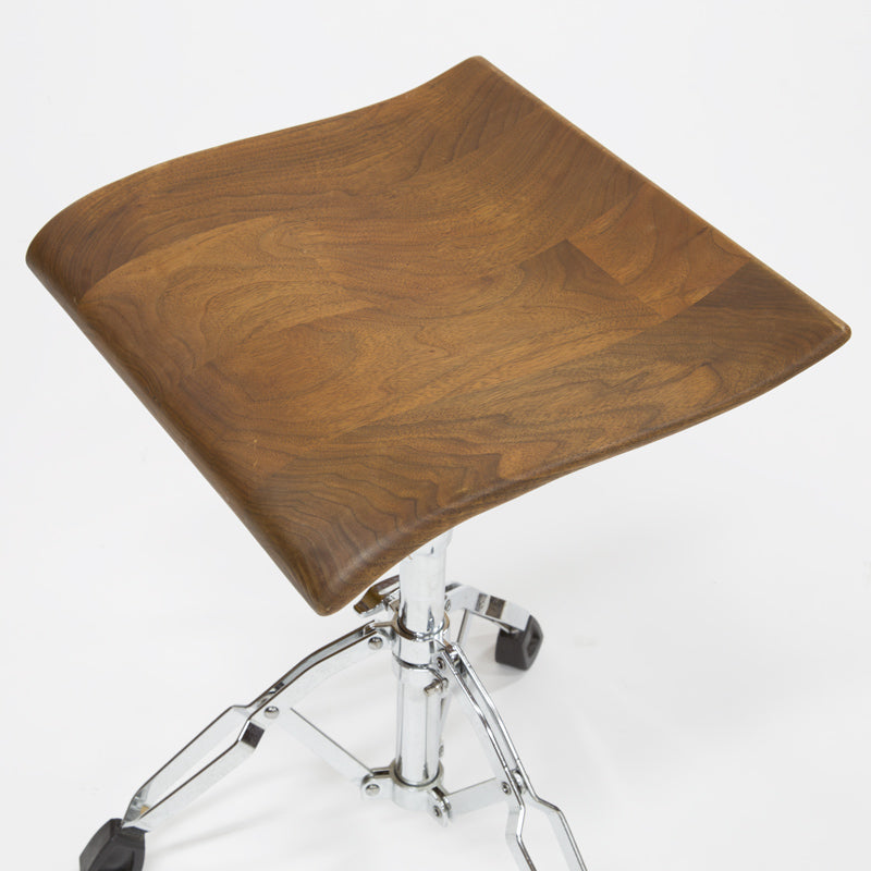 RIZO DRUM STOOL WALNUT
