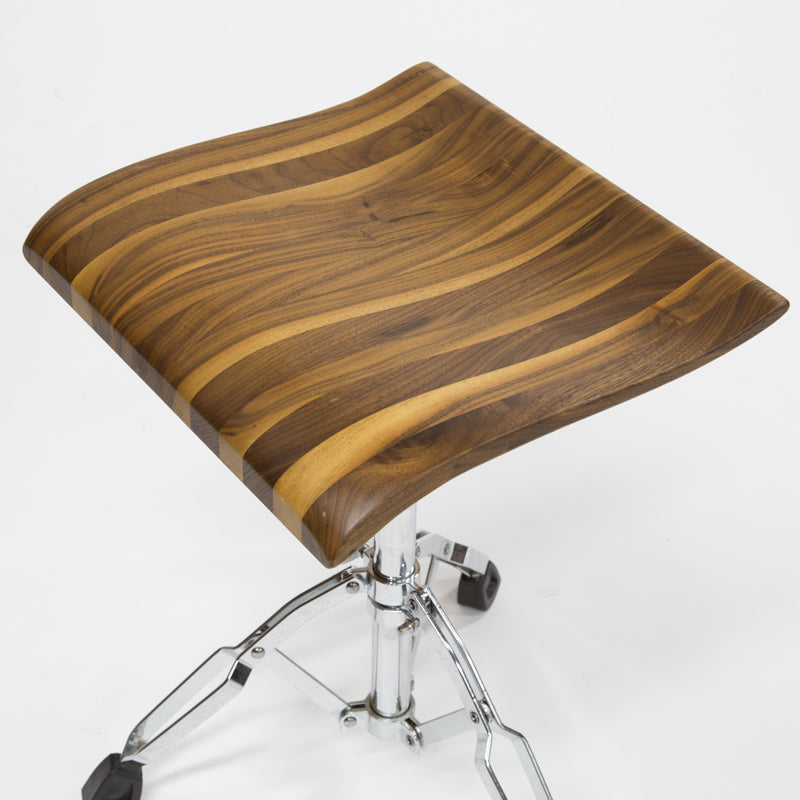 RIZO DRUM STOOL WOOD MIX