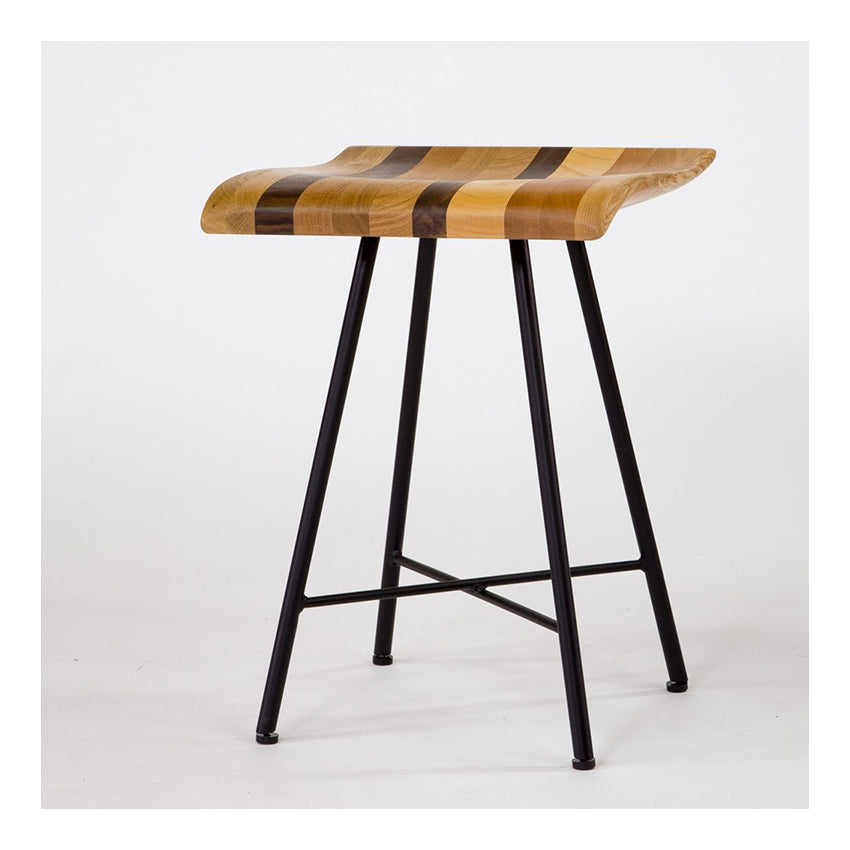 RIZO STOOL WOOD MIX