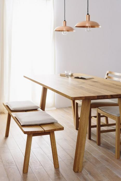 CORNICE SLIT DINING TABLE