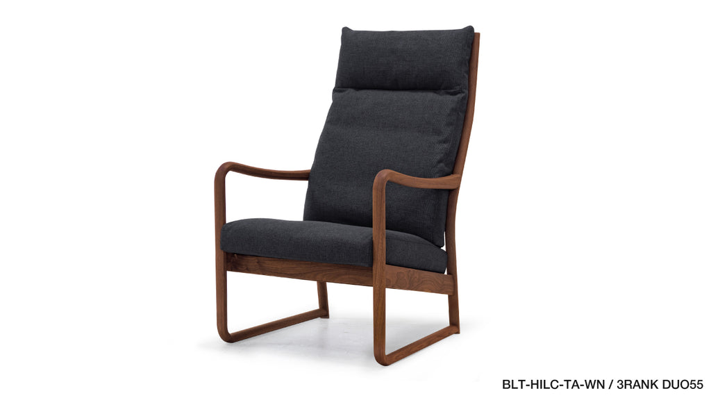 BLUEPRINT HIGH BACK LOUNGE CHAIR(TATAMI RUBBING SPECIFICATIONS)