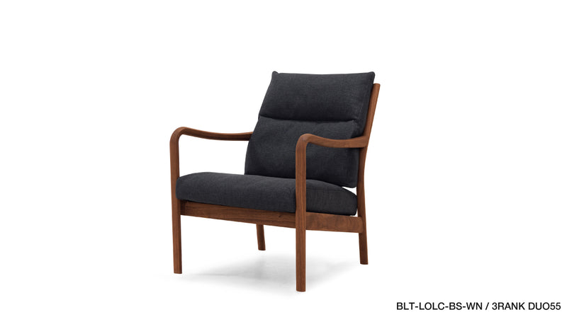 BLUEPRINT LOW BACK LOUNGE CHAIR