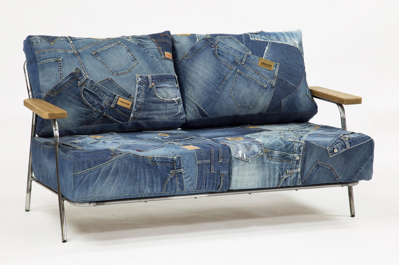 DENIM BENCH SOFA