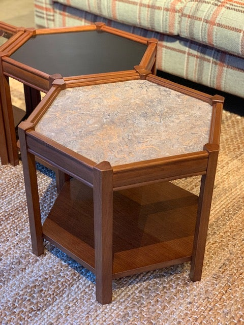 BROOKS HEXAGON TABLE
