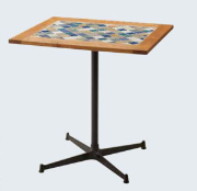 Tile cafe table