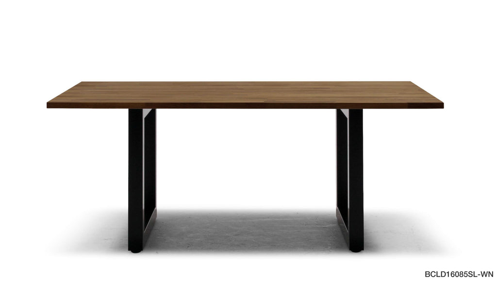 BRICK LOW DINING TABLE (STEEL LEGS)