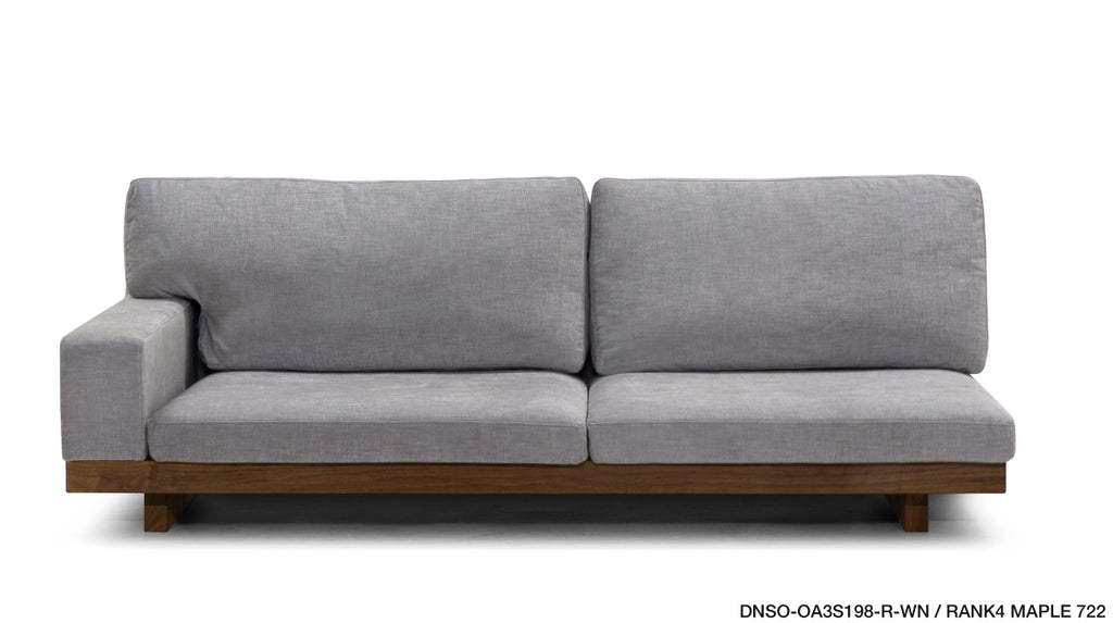 DANISH SOFA ONE ARM 158