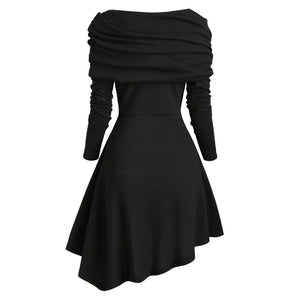 Trendy Asymmetrical Dress