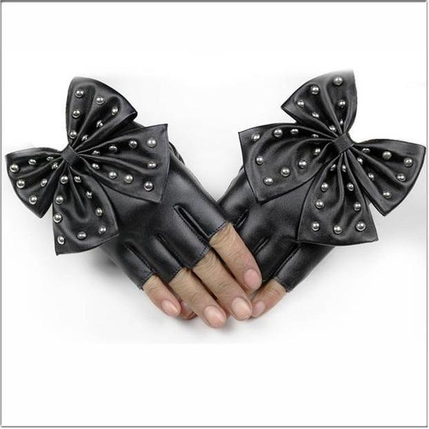 Bow Gloves - Wearable Tattoo