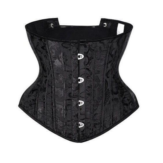 Underbust Steel Boned Black Magic Corset