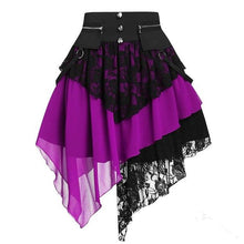 Load image into Gallery viewer, Alternative Goth Skirt