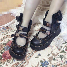Load image into Gallery viewer, Gothic Lolita Shoes