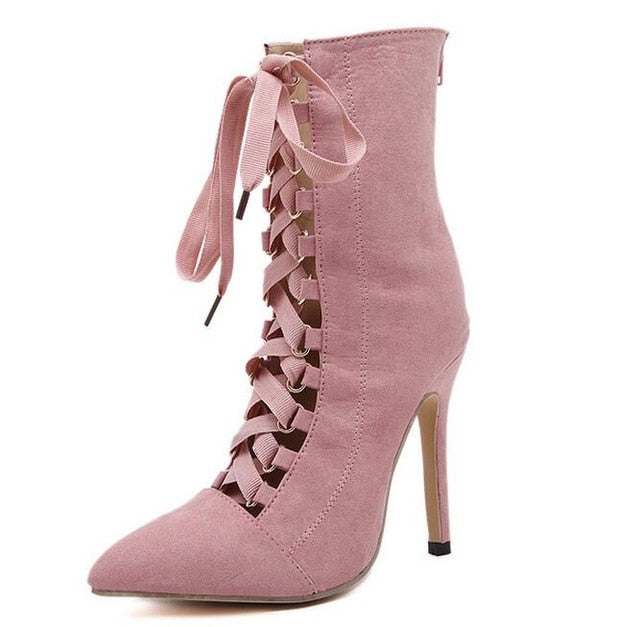 Ankle  Stiletto Boots