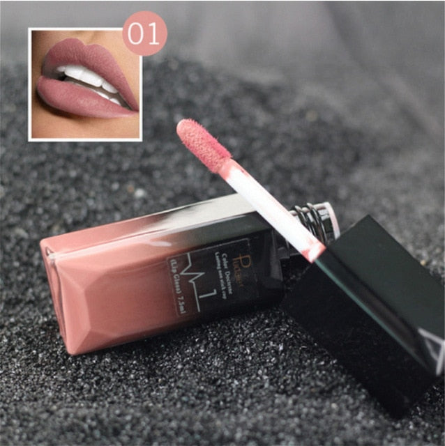 Hot Waterproof Matte Lip Gloss