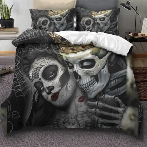 Skull Bedding Sets Duvet Cover