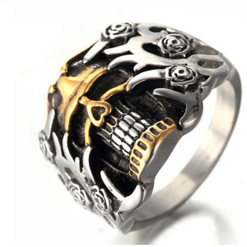 Gothic Carved Ring