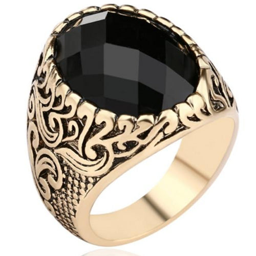 Antique Rings Goth Style Dragon Ring