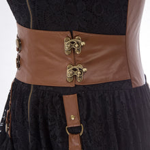 Load image into Gallery viewer, Steampunk Lacy Dress