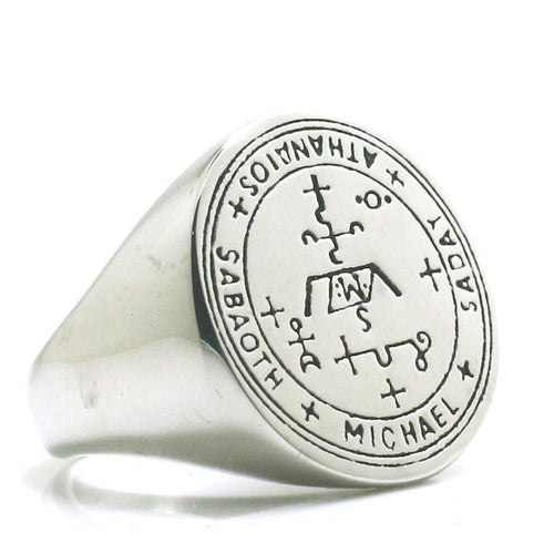 Archangel Michael Protection Sigils Ring