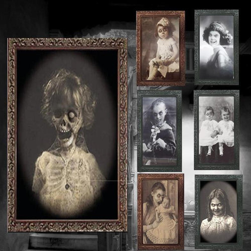 3D Framed Ghost Picture - Wearable Tattoo