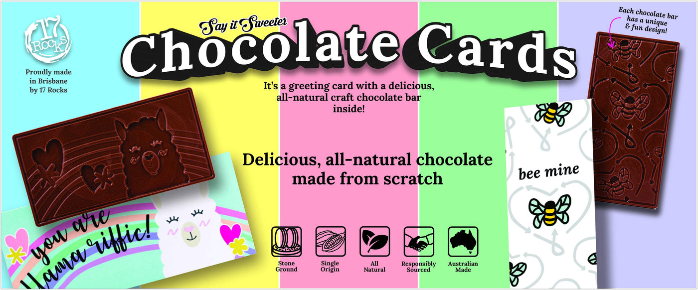 Say It Sweeter - Chocolate Cards