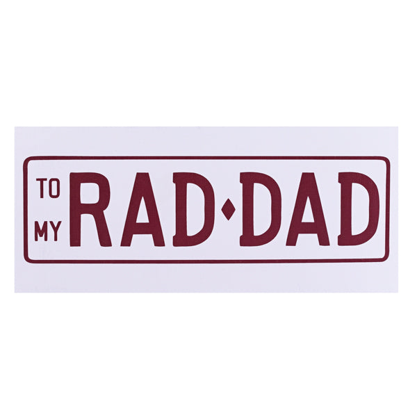 Rad Dad - 17 Rocks Ethically Produced Chocolate