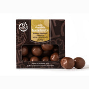 Chocolate coated hazelnuts - 17 Rocks Ethically Produced Chocolate