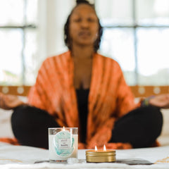 Simone Banks Owner of Sacred Space Candles