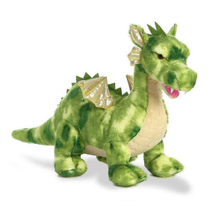 "Vollenth The Green 18"" Stuffed Dragon"