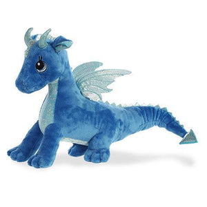 "Indigo Dragon 12"" Stuffed Plush"