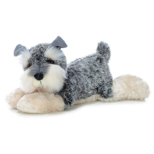 "Schnauzer 12"" Stuffed Plush"