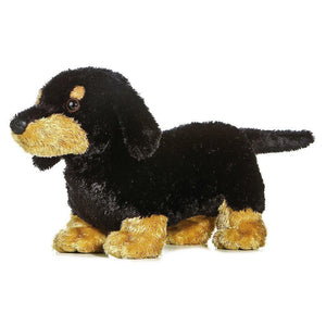 "Plush Dachshund 12"" Stuffed Dog"